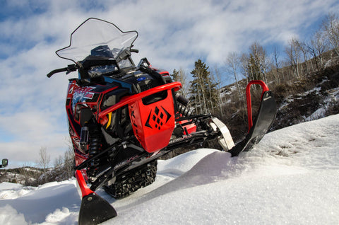 ARS-FX Front Bumper - Polaris Pro RMK AXYS Snowmobile