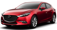 2014 - 2021 Mazda 3/Mazda 3 Sport Winter Tires