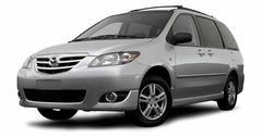 2004 - 2006 Mazda MPV Genuine Mazda Interior & Exterior Accessories from MazdaShop.ca