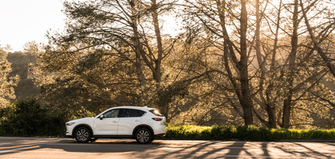 Mazda CX-5 on the road