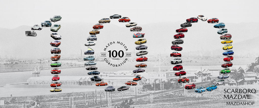 MazdaShop Scarboro Mazda Mazda Motor Corporation 100th Anniversary