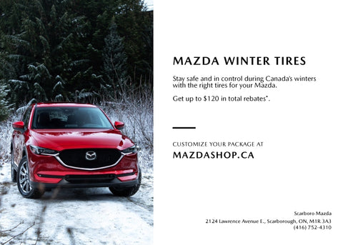 MazdaShop Winter Tire Packages