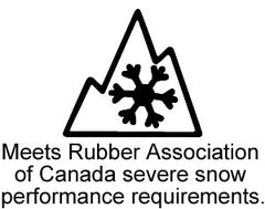 Winter Tire Three Peaked Mountain Symbol