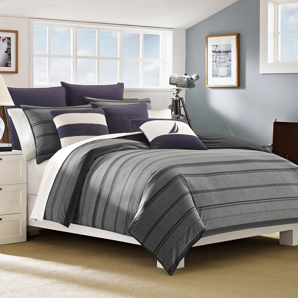 inspirations nautica haverdalegrayna twin l comforters covers comforter design set duvet home