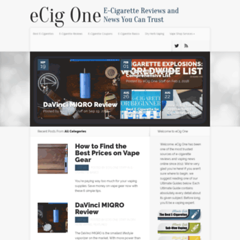 How to read E-cigarette reviews the right way