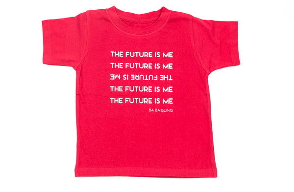 """The Future is Me"" Unisex Cotton T-Shirt (more colors available)"