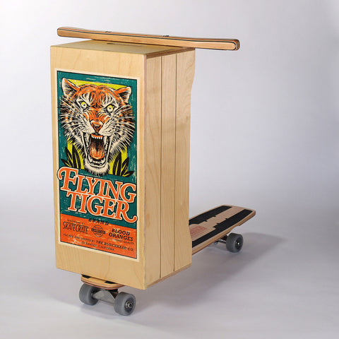 Flying Tiger Skate Crate: Small (2nd)