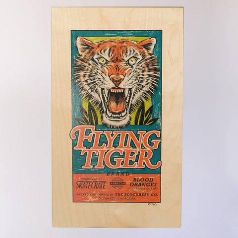 Flying Tiger Art Print