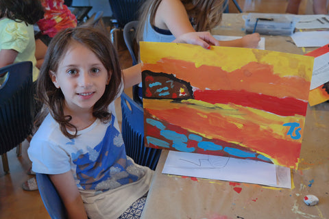 August Summer Camp Van Gogh 2020
