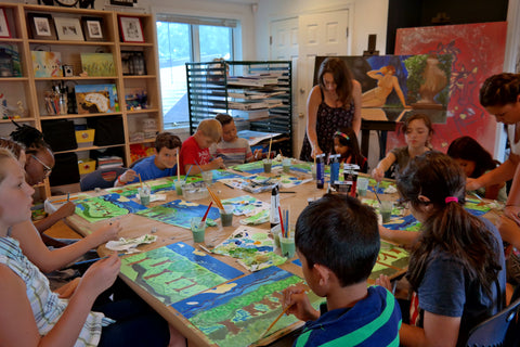 August Summer Camp Van Gogh 2018
