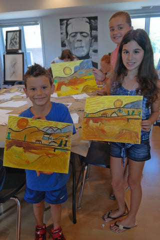 July Summer Camp Van Gogh 2017