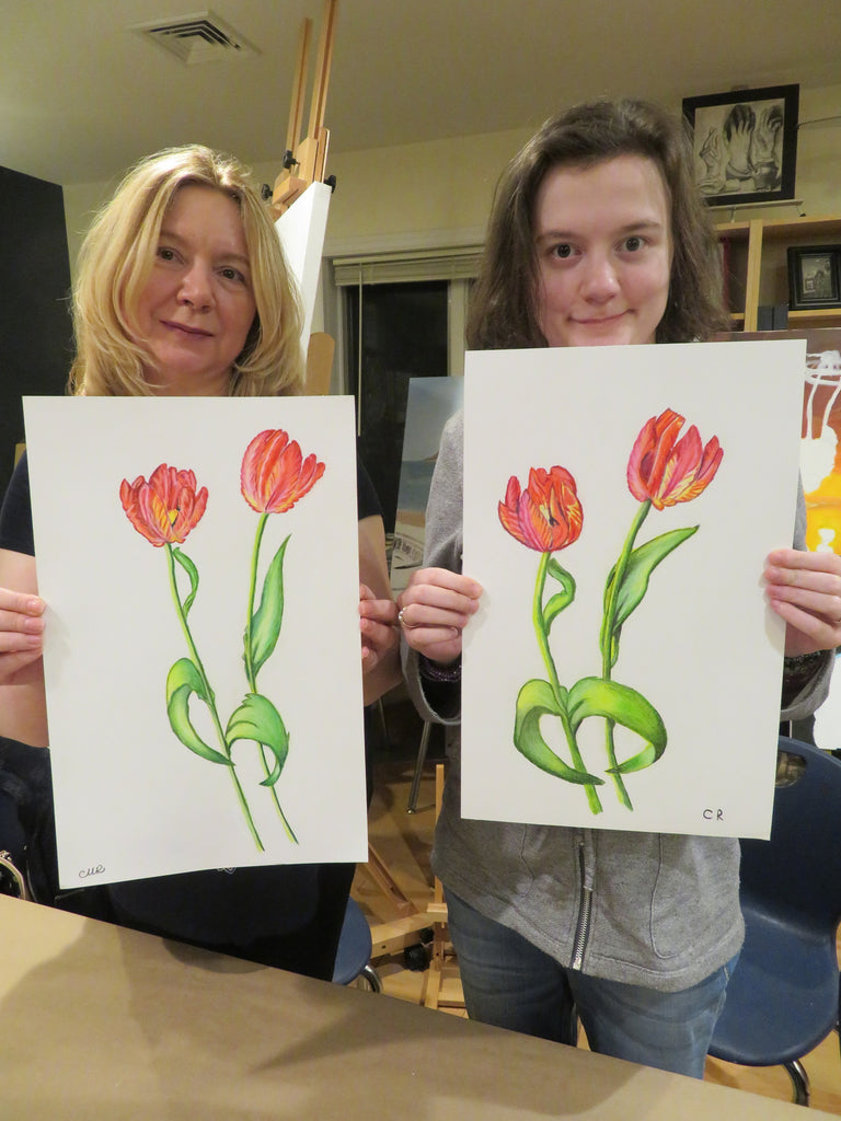 Adult Sketching & Painting