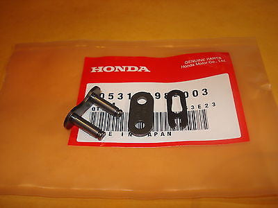 Honda Z50 QA50 MR50 XL70 XL75 XR75 SL70 CT70 CL70 ATC70 chain master link OEM