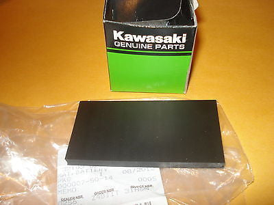 Kawasaki KE100 KS125 KE125 KE175 KE250 battery pad rubber OEM