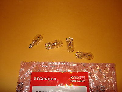 Honda VF500 VF1100 CB650SC CB1000 GL1100 GL1200 GL1500 Goldwing dash bulbs OEM