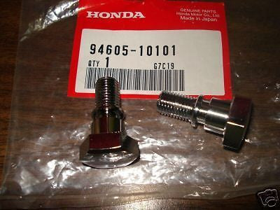 Honda MR50 SL70 S90 CL70 CL90 CT90 CA175 CB175 CL175 XL70 XR75 fork bolts OEM