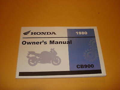 Honda  CB900 CB900C CB 900 Owners Manual 1980