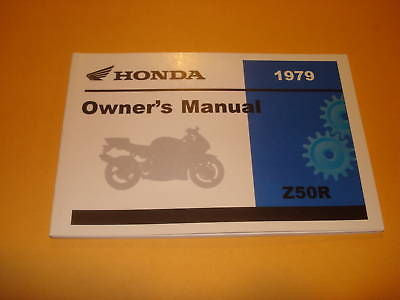 Honda Z50 R  Z50R  Z 50R   Owners Manual 1979