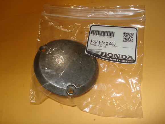 Honda CB350 CB350G CL350 SL350 CB CL SL  350 cover oil filter OEM