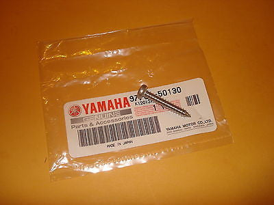 Yamaha QT50 QT 50 CA50 CE50 LC50 CV80 XJ600 air filter cover screw OEM