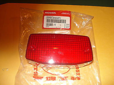HONDA NH80 NB50 NB 50 NB50M Aero tail light lens OEM