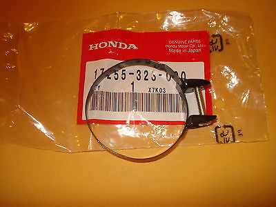 Honda CM200T CB500 CB550 CB550F XL100S XL125S Carb carburetor air box clamp OEM