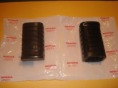 Honda EZ90 EZ 90  1991-1996 foot peg rubbers set OEM