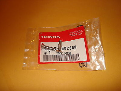 Honda CB125 CB125S XL100 XL125 XL125S XL185S point cover screw set OEM