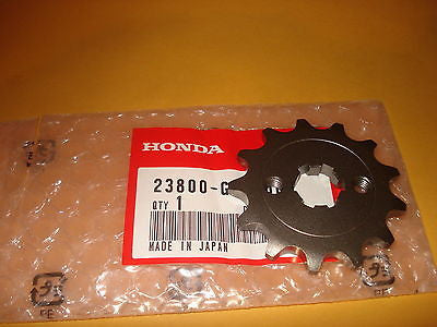Honda Z50R Z50  ATC70 ATC 70 CL70 SL70 XL70 TRX70 XR75 sprocket 13T assembly OEM