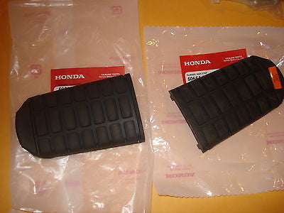 Honda GL1800 GL 1800 2001-2015 step peg rubbers set OEM