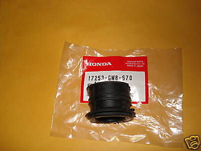 Honda  Z50 Z50A Z50R Z 50  XR50R CR50F CR50  Air cleaner boot OEM
