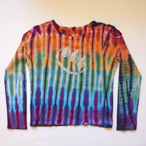 3M Reflective Claw Tie Dye Long Sleeve