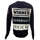 BORN2LOSE PINK & NAVY CREW NECK