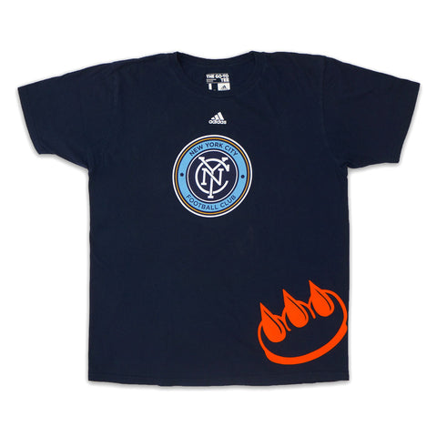 NYC FOOTBALL CLUB FLOCKED CLAW TEE