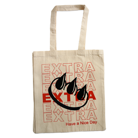 """EXTRA! EXTRA!"" CLAW TOTE"