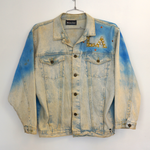 Vintage Los Angeles Airbrush Denim Jacket.