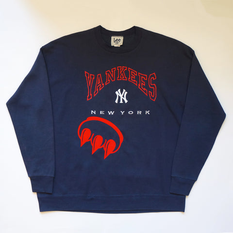 CLAW YANKEES CREWNECK SWEATSHIRT