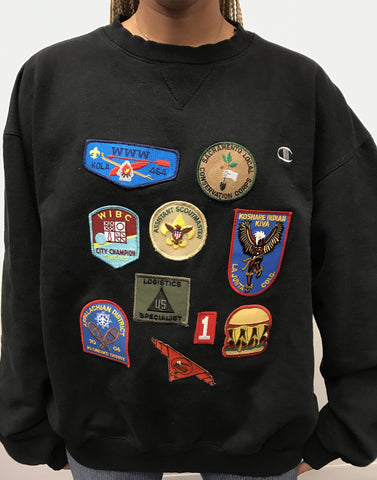 Champion Patch Sweater