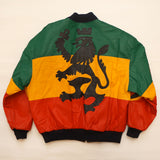 "Vintage Leather ""AFRICA"" Lion Jacket By Michael Hoban"