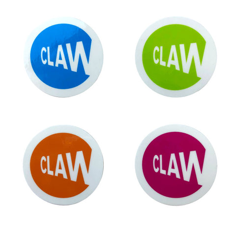 (4) CLAW MTA STICKER