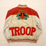 "Vintage ""STYLE BY TROOP"" Leather Troop Jacket"