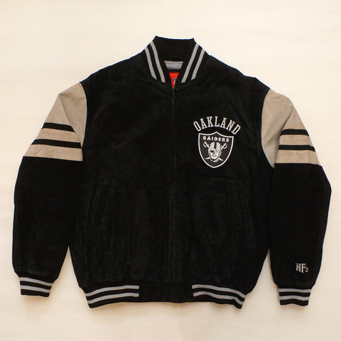 "Vintage NFL ""Oakland Raiders"" Leather Jacket"