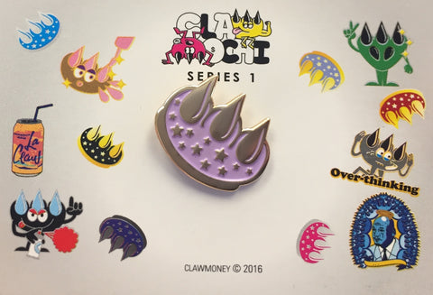 Violet Claw Pin