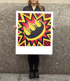 Yellow & Red Claw Money Print