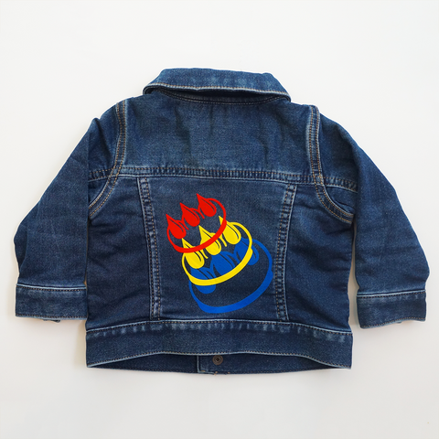 Claw Money youth denim jacket
