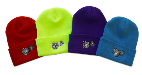 Embroidered Claw Blast Beanie
