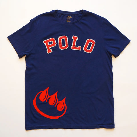 Flocked Claw POLO Tee