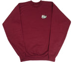 CLAW MONEY Maroon Pullover