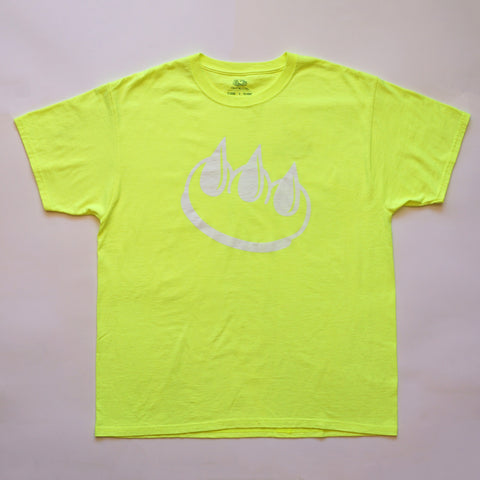 Fluorescent Yellow CLAW TEE