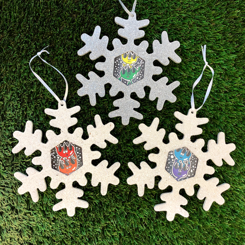 Claws Christmas Ornament Collectors Set